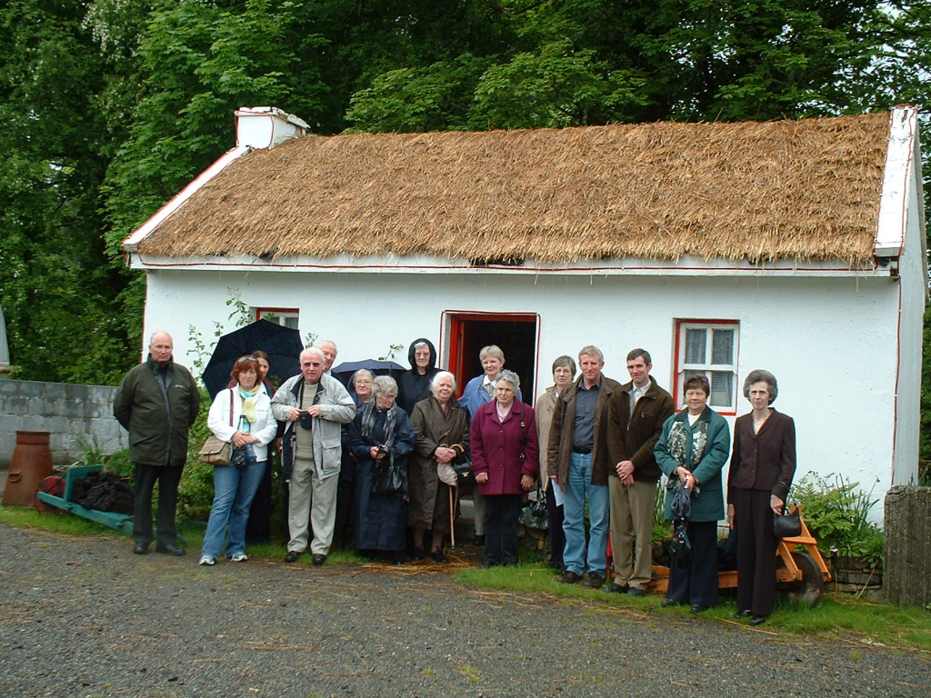 Society members in 2006 on a visit to Sligo Folk Park