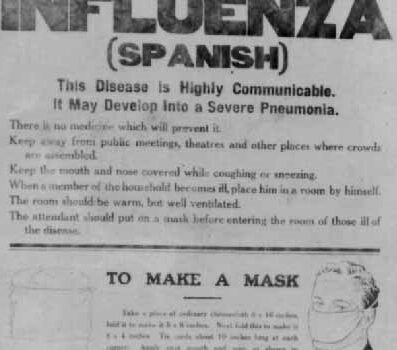 The 1918-19 Flu Epidemic in Annaghdown