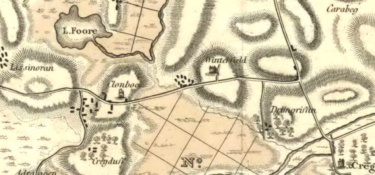 Travel to Galway from Cloonboo and the Annaghdown area before 1870