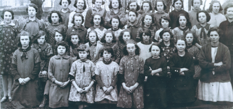 Corrandulla Girls' School Photo, c. 1926