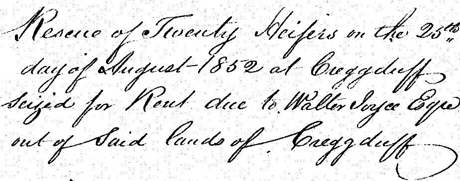 1852: Rescue of Twenty Heifers